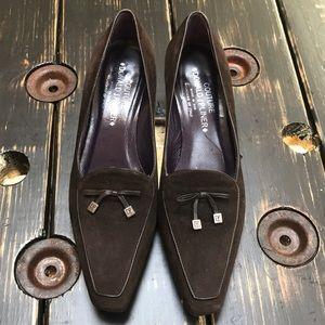 Donald J. Pliner Suede Low Heels